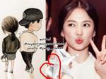 Cư dân mạng thích thú khi phát hiện ra hình nền điện thoại của Song Hye Kyo