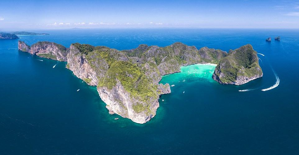Ngắm vùng vịnh Maya tuyệt đẹp trước khi đóng cửa vì quá tải-3