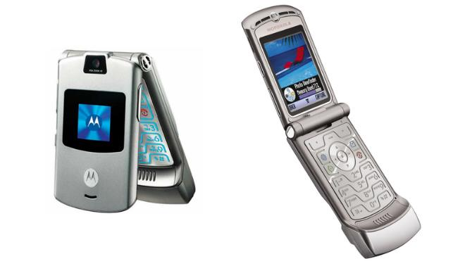 Điện thoại ăn khách nhất Motorola RAZR sắp hồi sinh-1