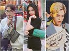 'Gia đình hoa dâm bụt' tổng tấn công làng thời trang bằng hàng hiệu xa xỉ