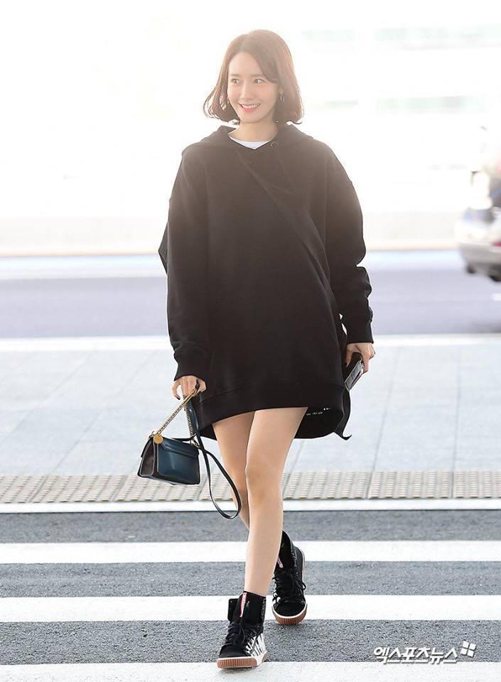 Sao Hàn 3/3: Shin Se Kyung nổi bật, đầy cuốn hút tại sân bay-9