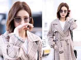 Sao Hàn 3/3: Shin Se Kyung nổi bật, đầy cuốn hút tại sân bay