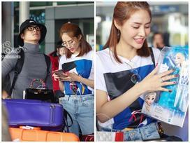 Từ Hàn trở về, Linh Chi mua búp bê tặng con gái của Lâm Vinh Hải