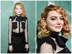 Emma Stone diện áo xuyên thấu sexy 'lấn át' dàn sao Hollywood trước thềm lễ trao giải Oscar