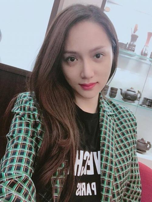 Mặt mộc đẹp không tì vết của Hương Giang - ứng viên sáng giá cho ngôi vị HH chuyển giới Quốc tế 2018-3