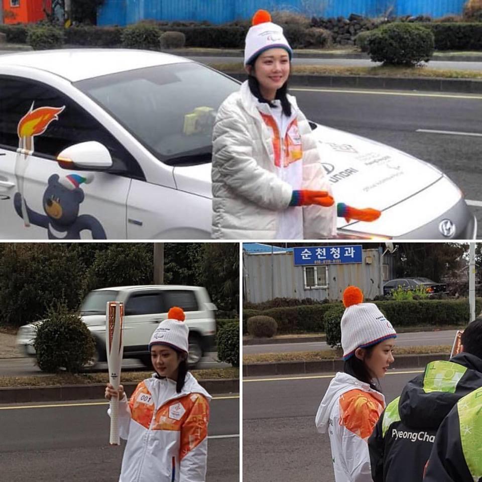 Sao Hàn 4/3: Jang Na Ra khoe nhan sắc không tuổi tại PyeongChang Paralmpics-2
