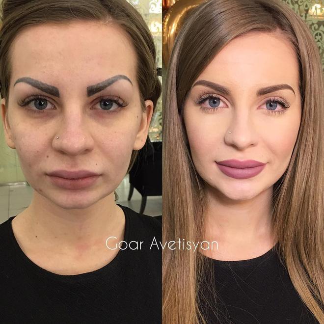 Cô gái make up biến phụ nữ thành nữ hoàng sắc đẹp