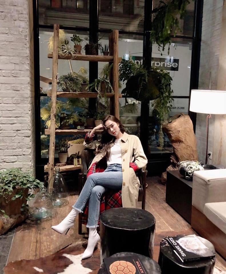 Irene - Tiffany diện street style chất ngất xứng danh biểu tượng thời trang xứ Hàn-5
