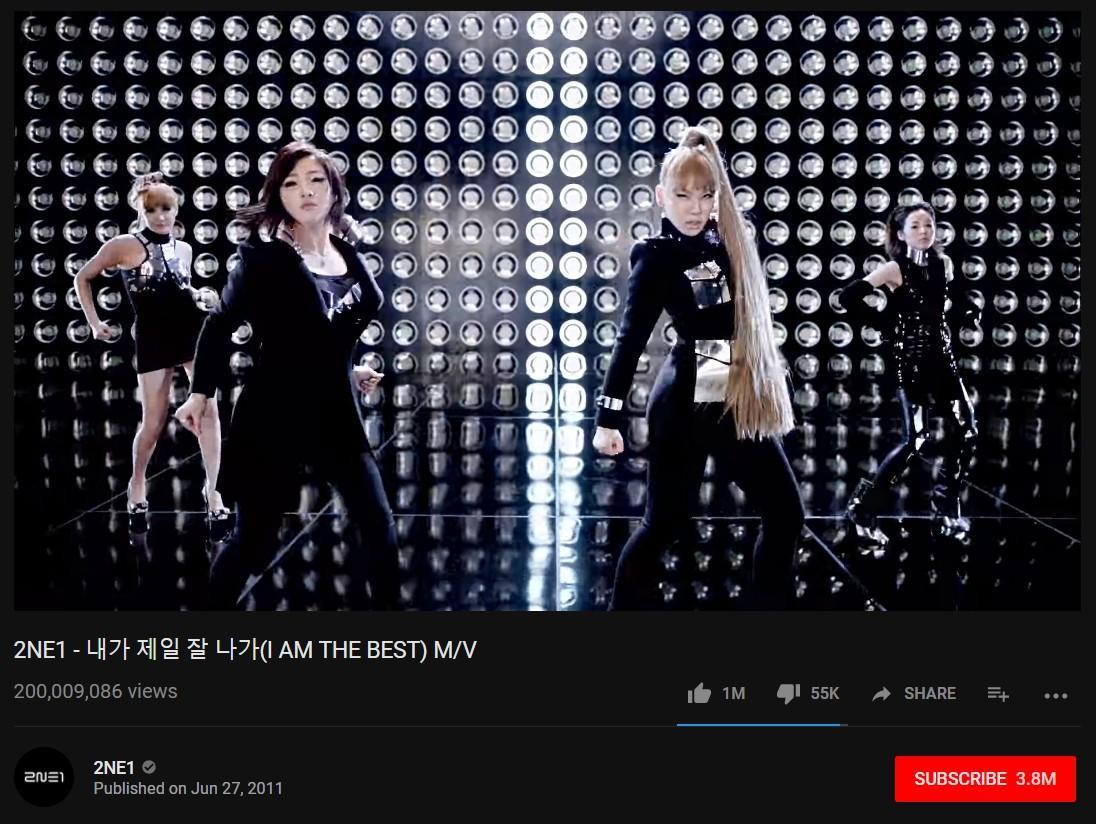 Tan rã hơn 1 năm, 2NE1 mới có MV 200 triệu view đầu tiên trong sự nghiệp-1