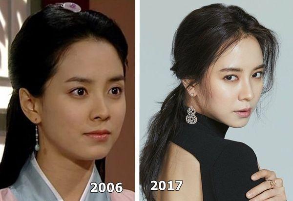 Đẳng cấp nhan sắc U40 của mợ ngố Song Ji Hyo: Mỹ nhân mặt mộc lên truyền hình nhiều nhất showbiz Hàn-4