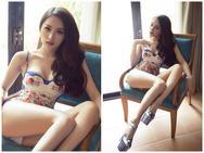 Hương Giang Idol khoe vóc dáng 'mướt mát' với bikini