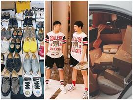 Ngắm bộ sưu tập hàng hiệu tiền tỷ của cặp bạn thân trái dấu Miu Lê - Duy Khánh