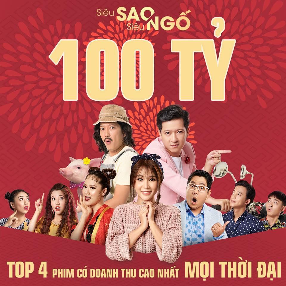 Siêu sao siêu ngố cán mốc 100 tỷ đồng, lọt top 4 phim Việt doanh thu cao nhất-1