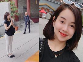 Ly Kute và loạt khoảnh khắc xinh đẹp trong chuyến du xuân đầu năm ở Trung Quốc