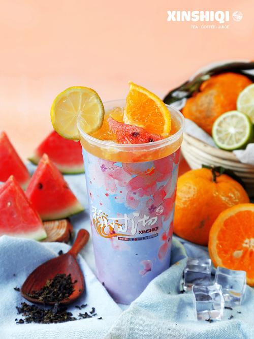 Xinshiqi lần đầu ra mắt các loại trà sữa không béo-1