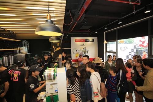 Xinshiqi lần đầu ra mắt các loại trà sữa không béo-2