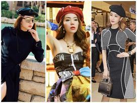 Chỉ với 1 chiếc mũ, Minh Hằng biến hóa mình với nhiều phong cách cực xinh