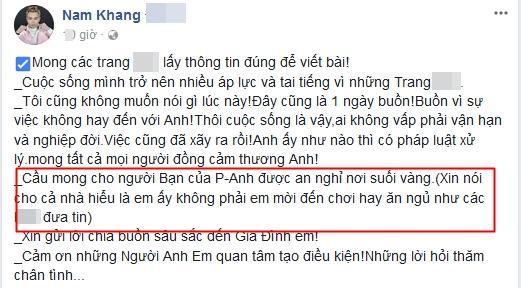Liên quan đến Châu Việt Cường, ca sĩ Nam Khang khẳng định: Tôi không mời nạn nhân đến chơi hay ăn ngủ-6