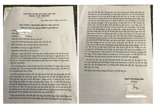 Cô giáo bị bắt quỳ xin lỗi phụ huynh lần đầu lên tiếng-1