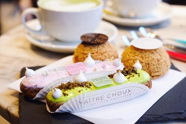 Đến London nhất định phải ghé nơi đã biến những chiếc bánh Éclair thành tác phẩm nghệ thuật ăn được này-10