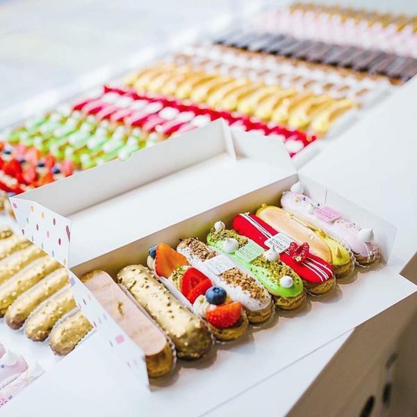 Đến London nhất định phải ghé nơi đã biến những chiếc bánh Éclair thành tác phẩm nghệ thuật ăn được này-7