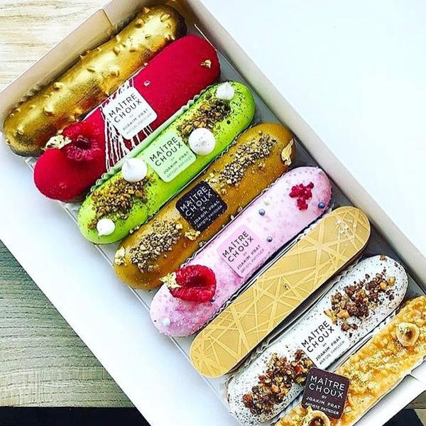 Đến London nhất định phải ghé nơi đã biến những chiếc bánh Éclair thành tác phẩm nghệ thuật ăn được này-11