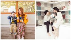 Chọn đúng ngày 8/3, bà mẹ đơn thân Thu Thủy và Trương Quỳnh Anh khoe ảnh ngọt ngào bên con trai