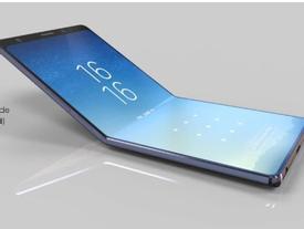 'Choáng' Samsung Galaxy Wing màn hình 7 inch 4K, gập lại được