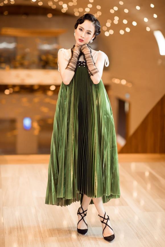 Bảo Anh đánh môi xanh lét - Angela Phương Trinh diện váy mẹ bầu đứng đầu danh sách sao xấu tuần qua-1