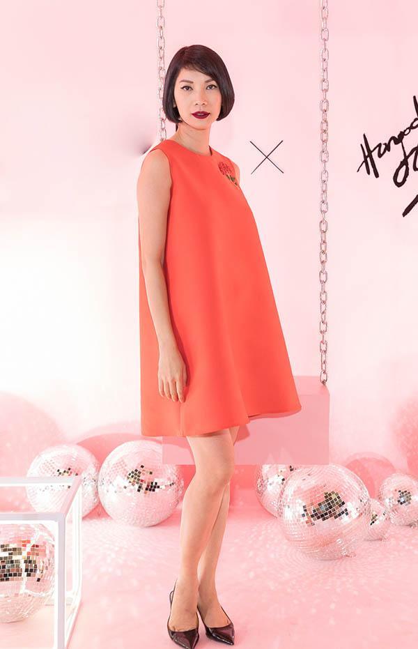 Bảo Anh đánh môi xanh lét - Angela Phương Trinh diện váy mẹ bầu đứng đầu danh sách sao xấu tuần qua-5