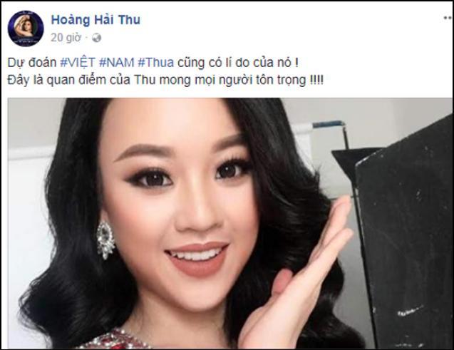 Sau phát ngôn U23, Hoàng Hải Thu lại bị ném đá vì dự đoán Hương Giang trượt vỏ chuối tại Hoa hậu Chuyển giới-6