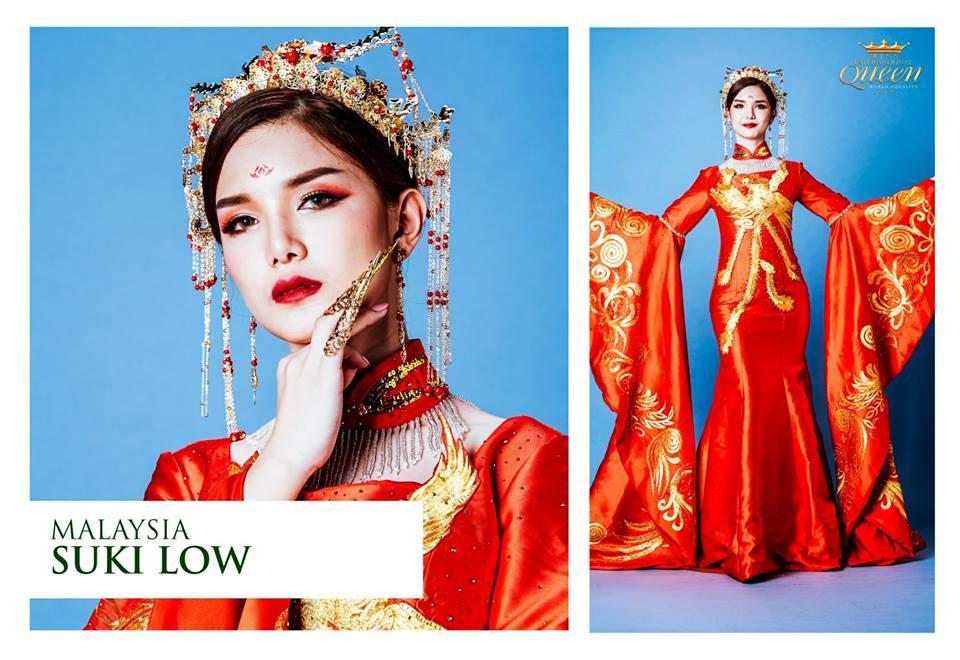 Mãn nhãn top 10 trang phục truyền thống đẹp xuất sắc đêm chung kết Hoa hậu chuyển giới Quốc tế 2018-3