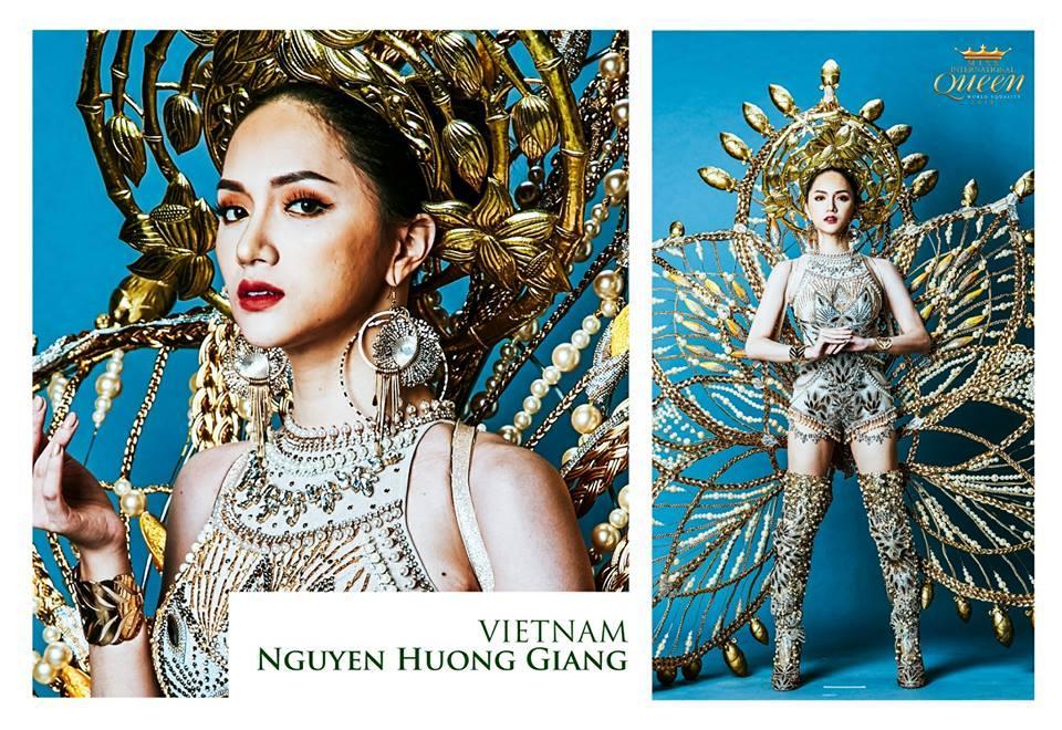 Mãn nhãn top 10 trang phục truyền thống đẹp xuất sắc đêm chung kết Hoa hậu chuyển giới Quốc tế 2018-2