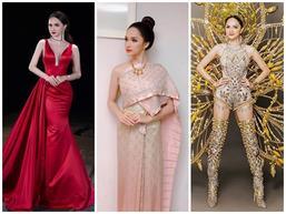 Ngắm loạt thiết kế đã giúp Hương Giang Idol đăng quang Hoa hậu chuyển giới Quốc tế 2018