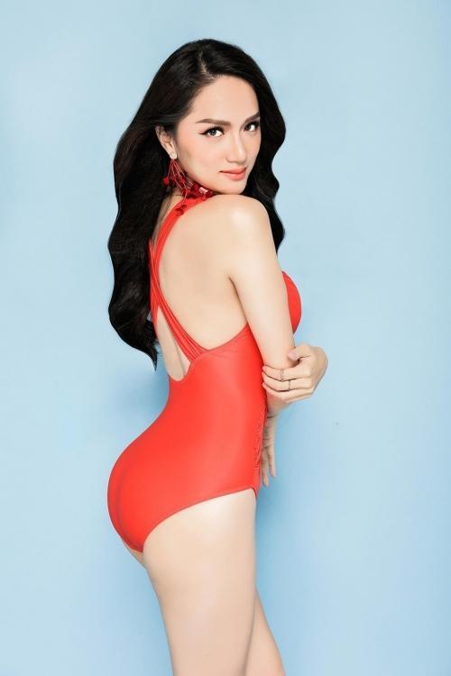 Hương Giang diện bikini nóng bỏng thế này bảo sao không giành vương miện Hoa hậu-10