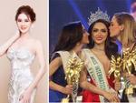 Á Hậu nước chủ nhà Thái Lan Yoshi Rinrada chúc mừng tân hoa hậu Hương Giang Idol-15