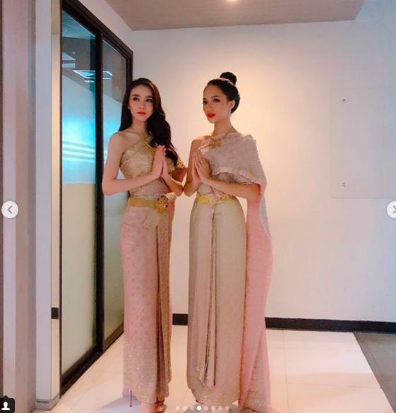 Á Hậu nước chủ nhà Thái Lan Yoshi Rinrada chúc mừng tân hoa hậu Hương Giang Idol-14