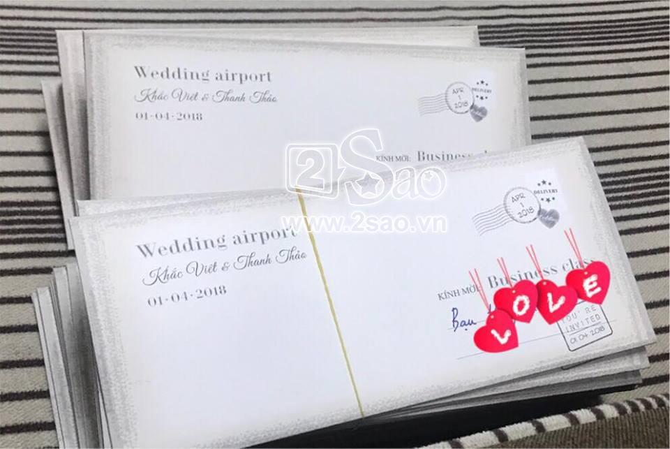 ĐỘC QUYỀN: Hé lộ thiệp cưới cực độc và đầy hài hước của Khắc Việt-1