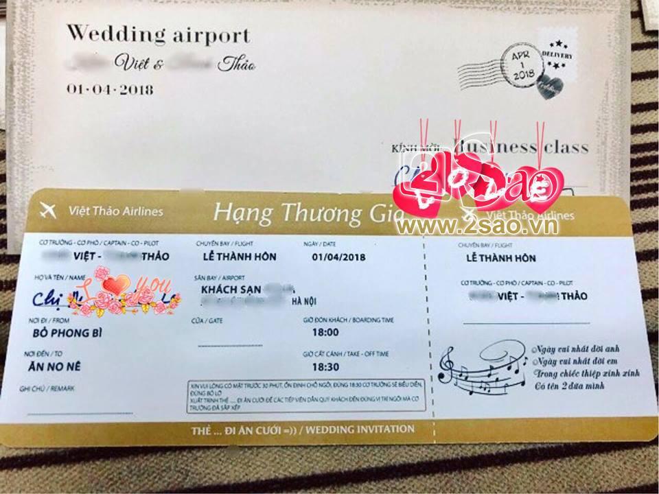 ĐỘC QUYỀN: Hé lộ thiệp cưới cực độc và đầy hài hước của Khắc Việt-2