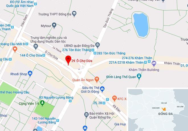 Lửa nghi ngút ở cửa hàng dịch vụ cưới hỏi tại Hà Nội-4