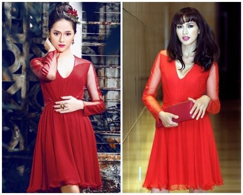 Hoa hậu Hương Giang 'lấn lướt' loạt mỹ nhân Vbiz khi đụng váy áo, không phải dạng vừa đâu!-11