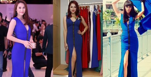 Hoa hậu Hương Giang 'lấn lướt' loạt mỹ nhân Vbiz khi đụng váy áo, không phải dạng vừa đâu!-13