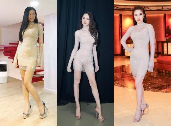 Hoa hậu Hương Giang 'lấn lướt' loạt mỹ nhân Vbiz khi đụng váy áo, không phải dạng vừa đâu!-4