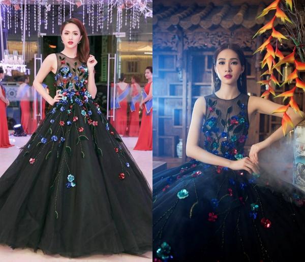 Hoa hậu Hương Giang 'lấn lướt' loạt mỹ nhân Vbiz khi đụng váy áo, không phải dạng vừa đâu!-5