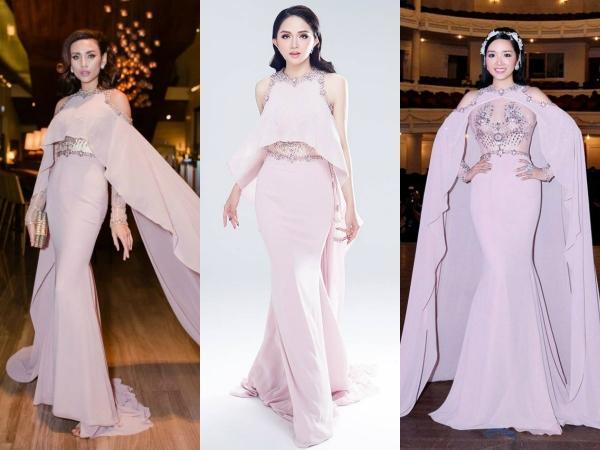 Hoa hậu Hương Giang 'lấn lướt' loạt mỹ nhân Vbiz khi đụng váy áo, không phải dạng vừa đâu!-6