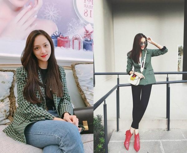 Hoa hậu Hương Giang 'lấn lướt' loạt mỹ nhân Vbiz khi đụng váy áo, không phải dạng vừa đâu!-8