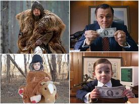 Loạt ảnh nhái cảnh nổi tiếng trong phim đoạt Oscar của 3 cô bé