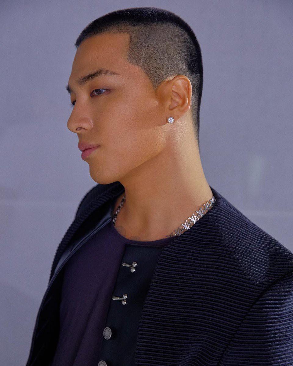 Cắt đầu đinh để đi nhập ngũ nhưng có khi đây lại là kiểu tóc đẹp nhất của Tae Yang-1