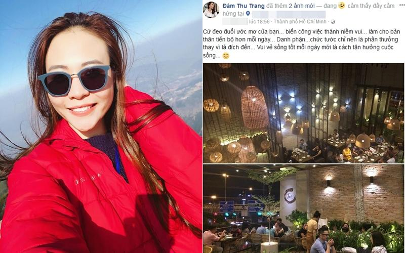 Đàm Thu Trang nhắc tới danh phận đầy ẩn ý giữa lúc tin đồn đám cưới với Cường Đô La lan truyền-1