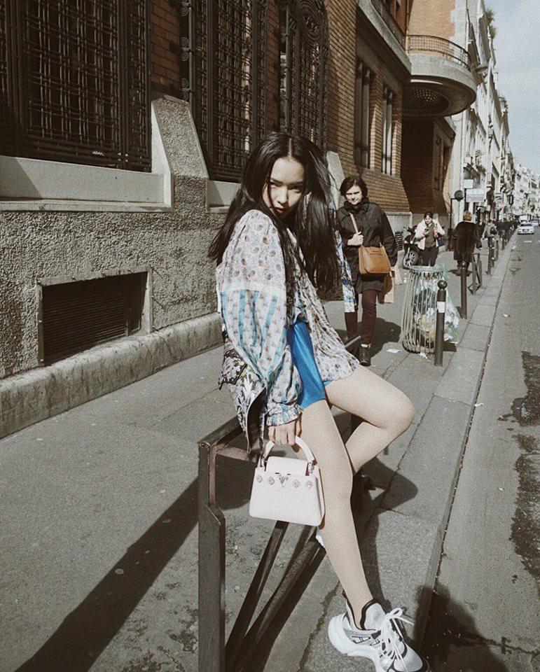 Cùng diện thiết kế Louis Vuitton, Châu Bùi áp đảo mỹ nhân Hoa ngữ nhờ thần thái đỉnh cao-2